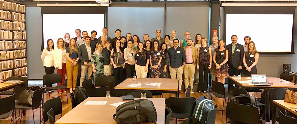 The participants at the Aligning Biodiversity Measures For Business workshop in Rio de Janeiro © Julie Dimitrijevic